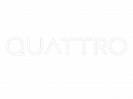 Quattro creative communication agency logo